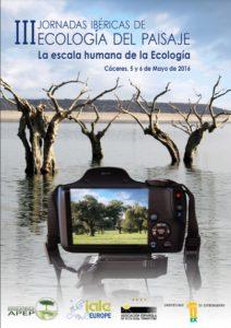 cartel jornadas ecología